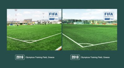 Review of our FIFA Quality Pro Field – Olympicos Training Field, Greece
