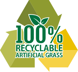 CCGrass provide 100% recyclable artificial turf innovation prt-SERIES