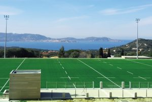 ccgrass Artificial-turf-rugby field Stade Municipal, France