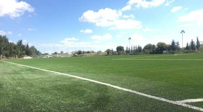 CCGrass supplies Superb football pitch in Cyprus
