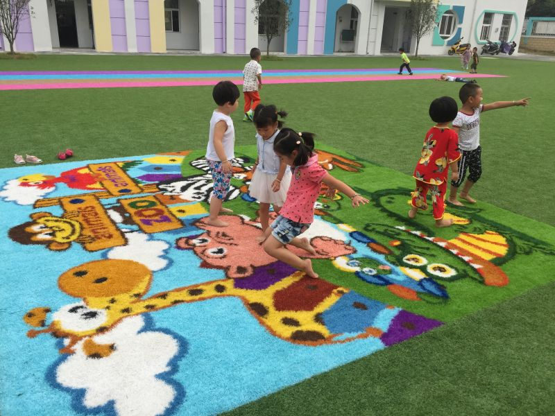 art artificial turf field landscape leisure grassfor playground