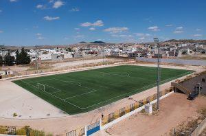 ccgrass artificial grass manufacturer GTR - SAE - Complexe Sportif de Testour (Tunisia)