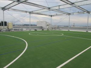 artificial grass factory synthetic turf multi sport field Japan