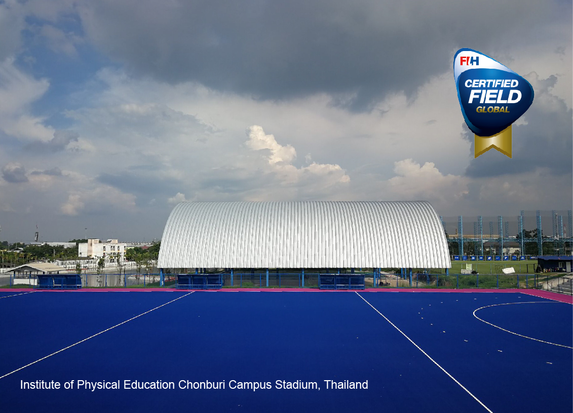 ccgrass high performance hockey artificial grass global field Thailand