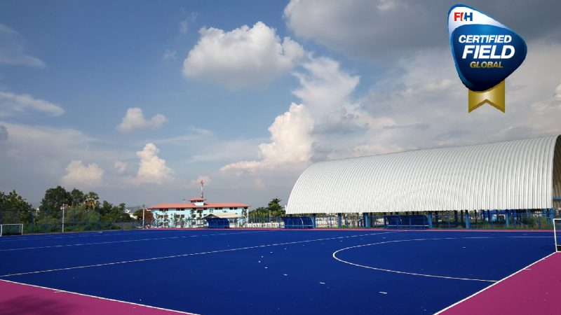 CCGrass provides new global hockey field for Thailand