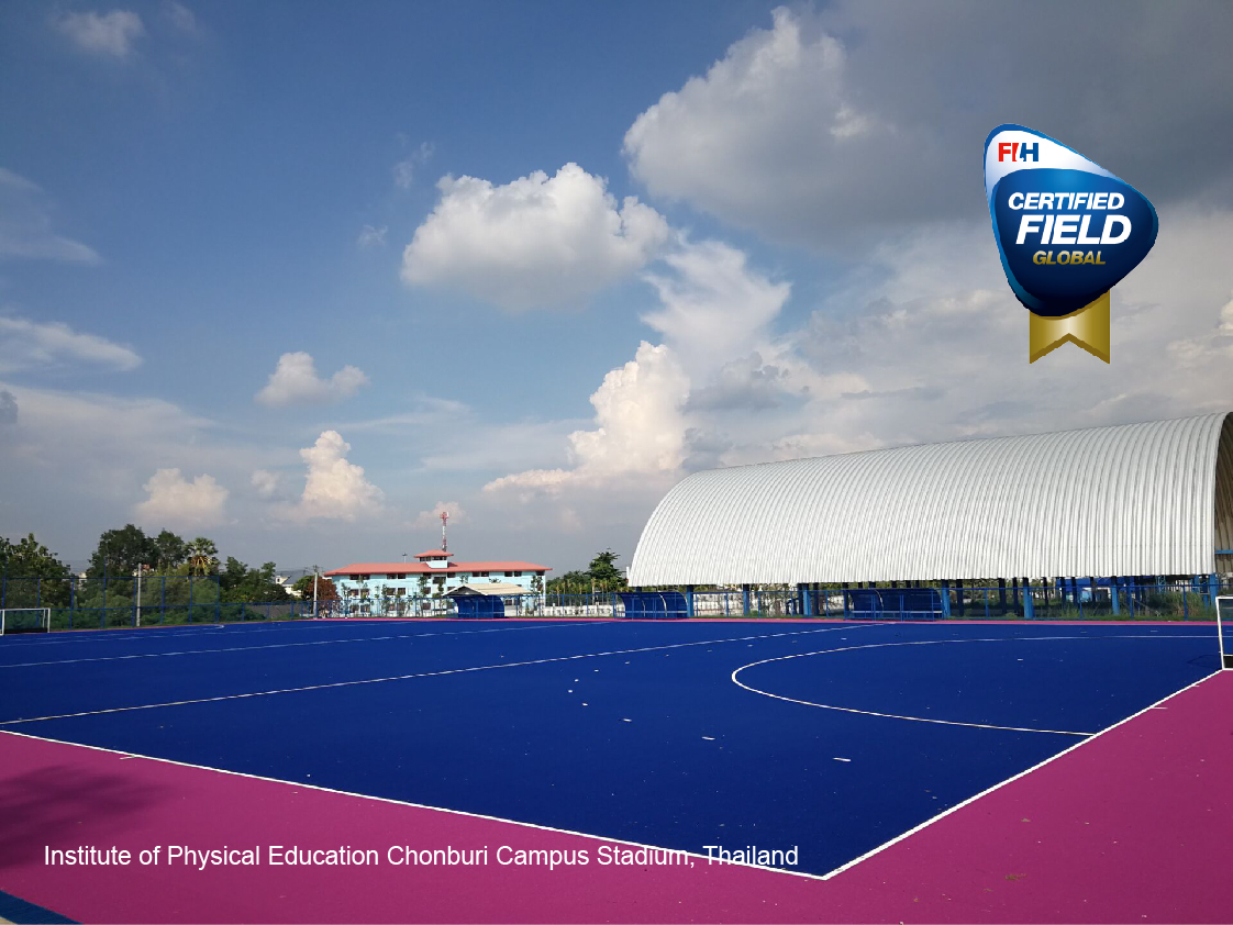 ccgrass high performance hockey artificial grass global hockey field field Thailand