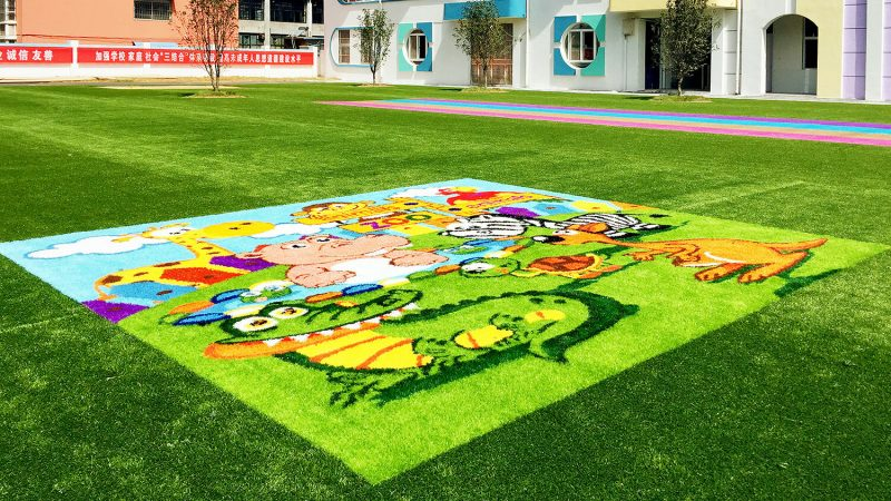 Artificial grass – dressing up the art venues