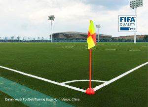 CCGrass artificial grass factory FIFA pro quality football field Dalian Youth Football Training Base No.1 Venue