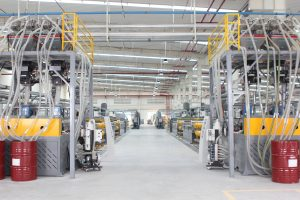New CCGrass Vietnam synthetic turf factory11