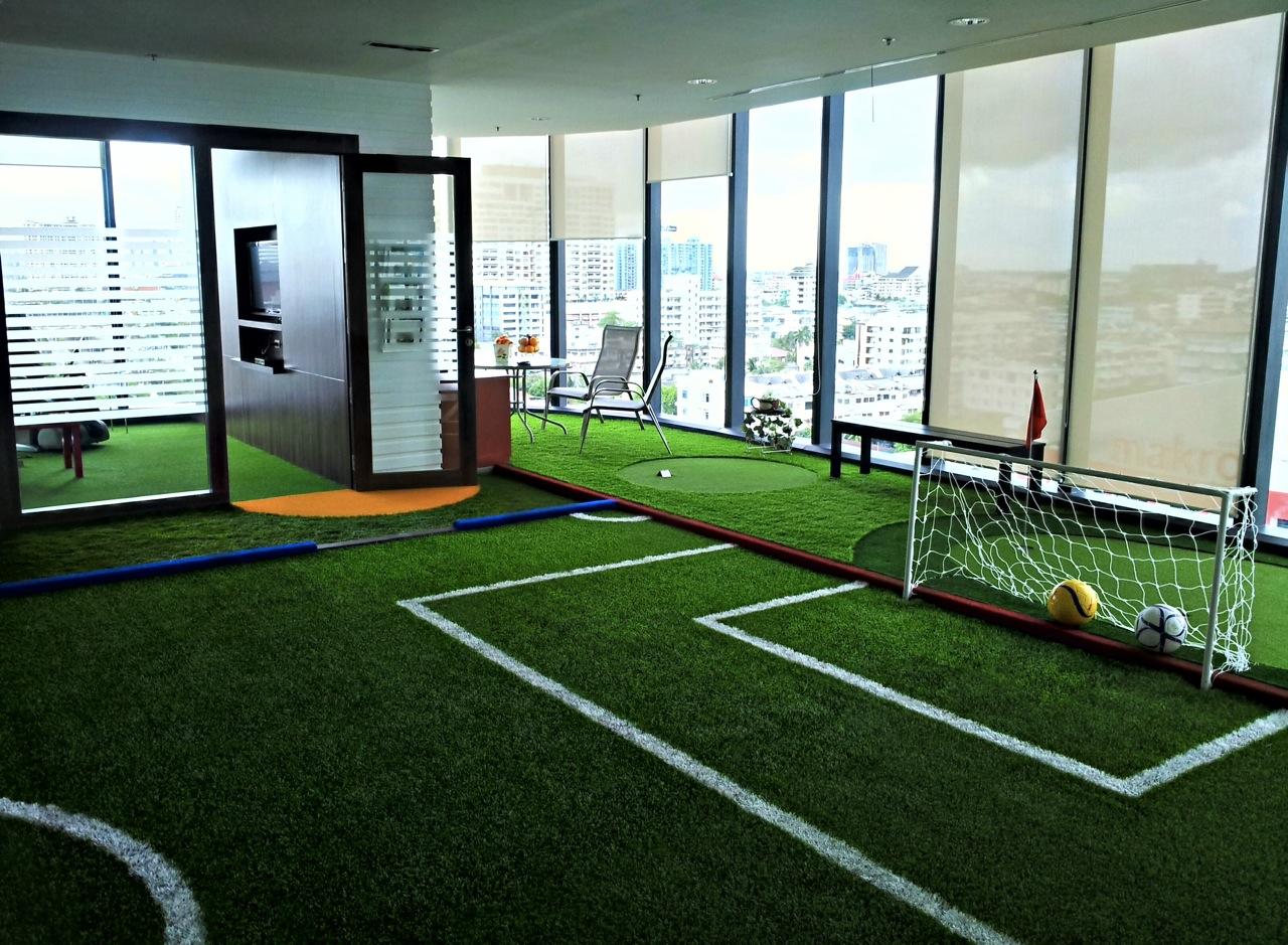 Flame retardant artificial grass carpet landscape leisure field