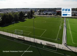 CCGrass artificial grass factory FIFA quality pro football field Sportpark Weidesteen field 4