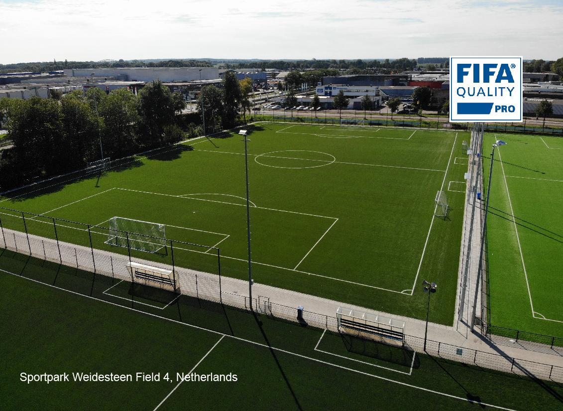 Sport park Weidesteen Field 4, Netherlands
