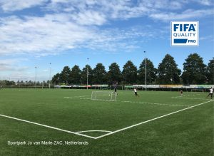 CCGrass artificial grass factory FIFA quality pro football field Sportpark Jo van Marle-ZAC-Netherlands