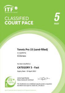 Tennis Pro 15 (sand-filled)