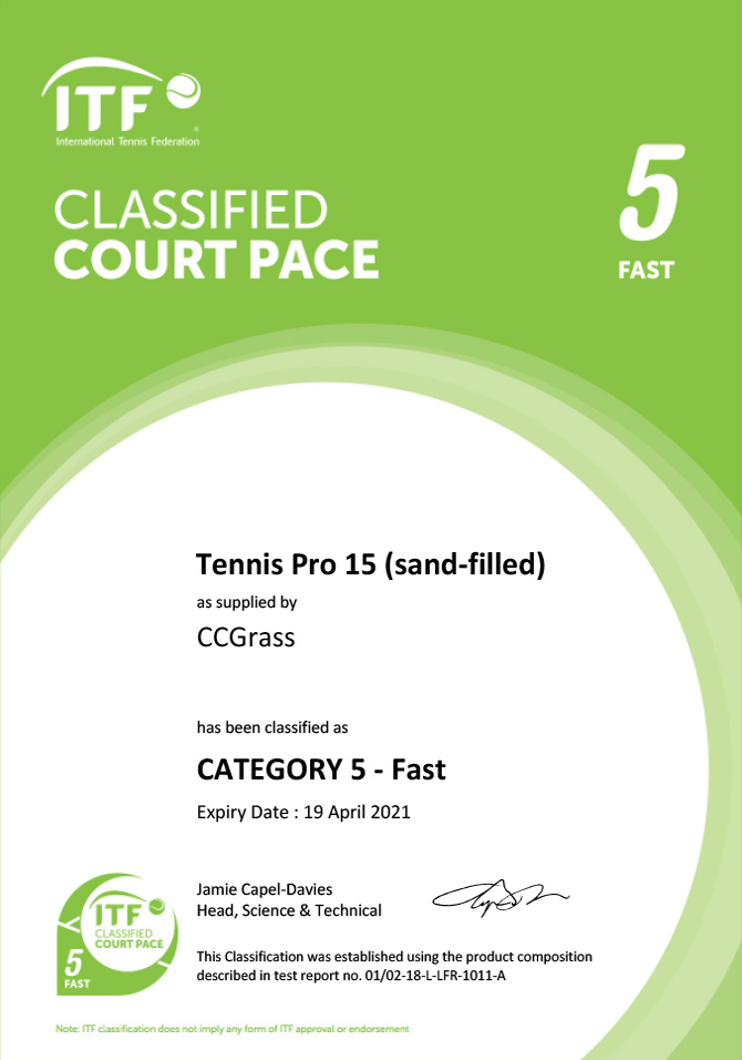 Tennis Pro 15 (sand-filled)