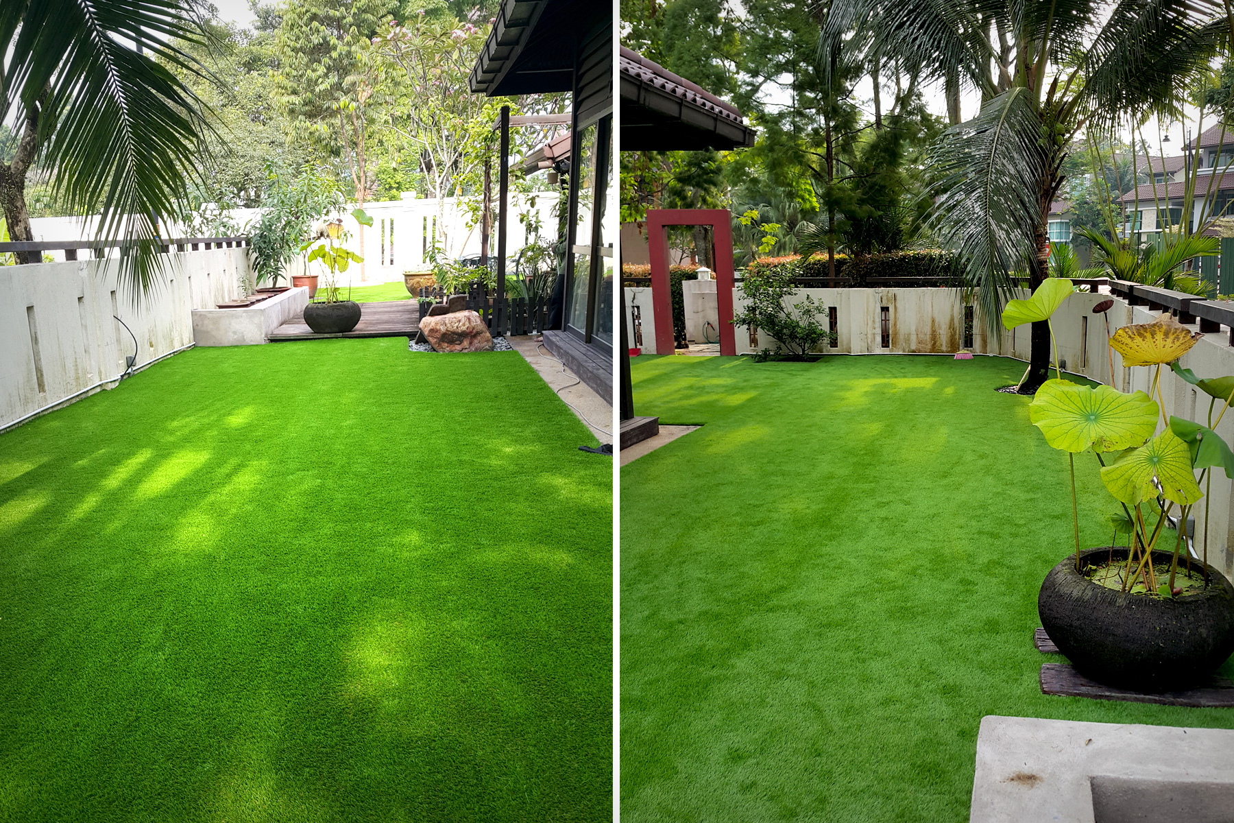 artificial grass landscape leisure decoration synthetic turf fields
