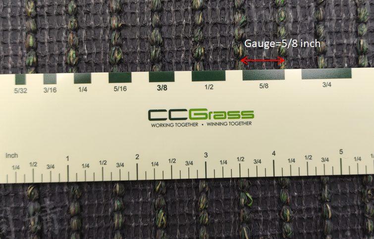CCGrass, artificial grass gauge