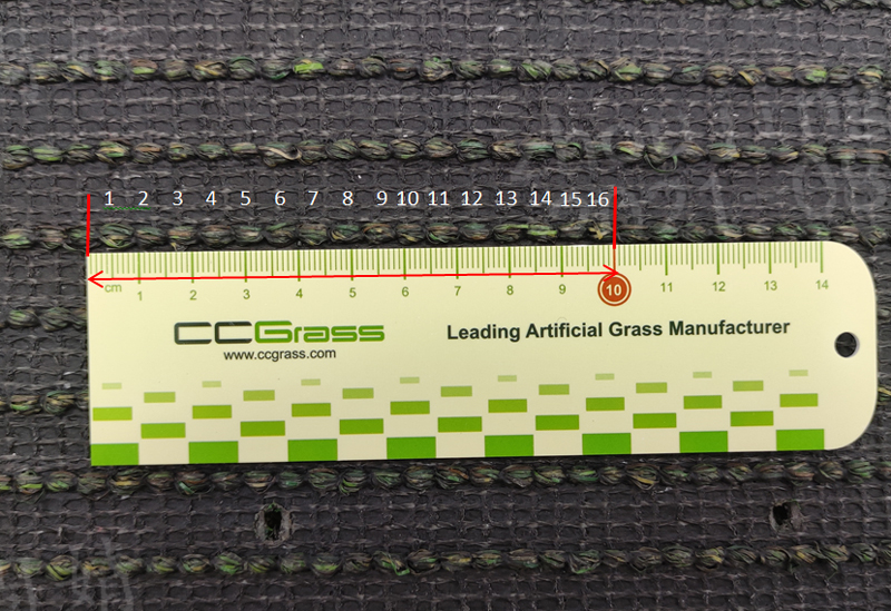 CCGrass, artificial grass stitch rate