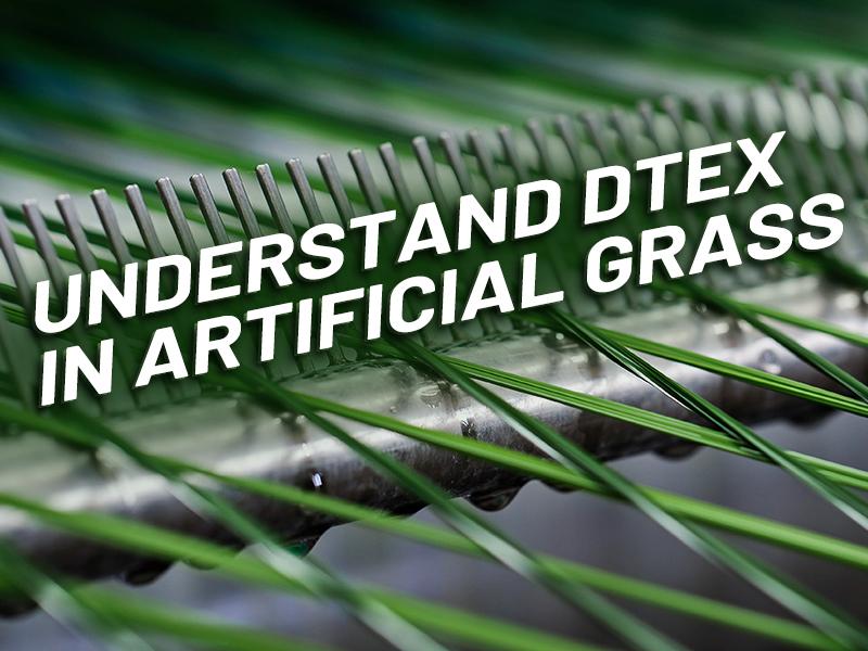 CCGrass, dtex in artificial grass