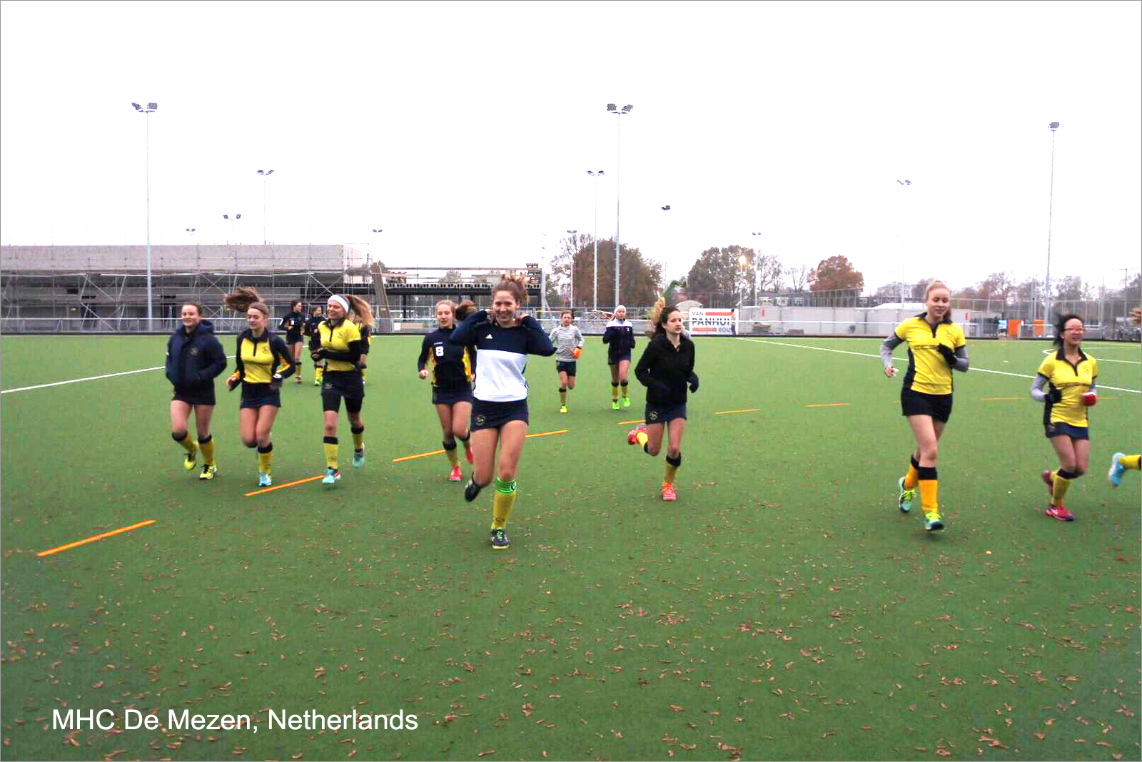 CCGrass hockey fields prove a winner in the Netherlands110