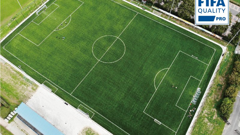 CCGrass provides 6 FIFA Quality Pro fields to Zwolle