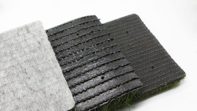 How to choose artificial grass backing?
