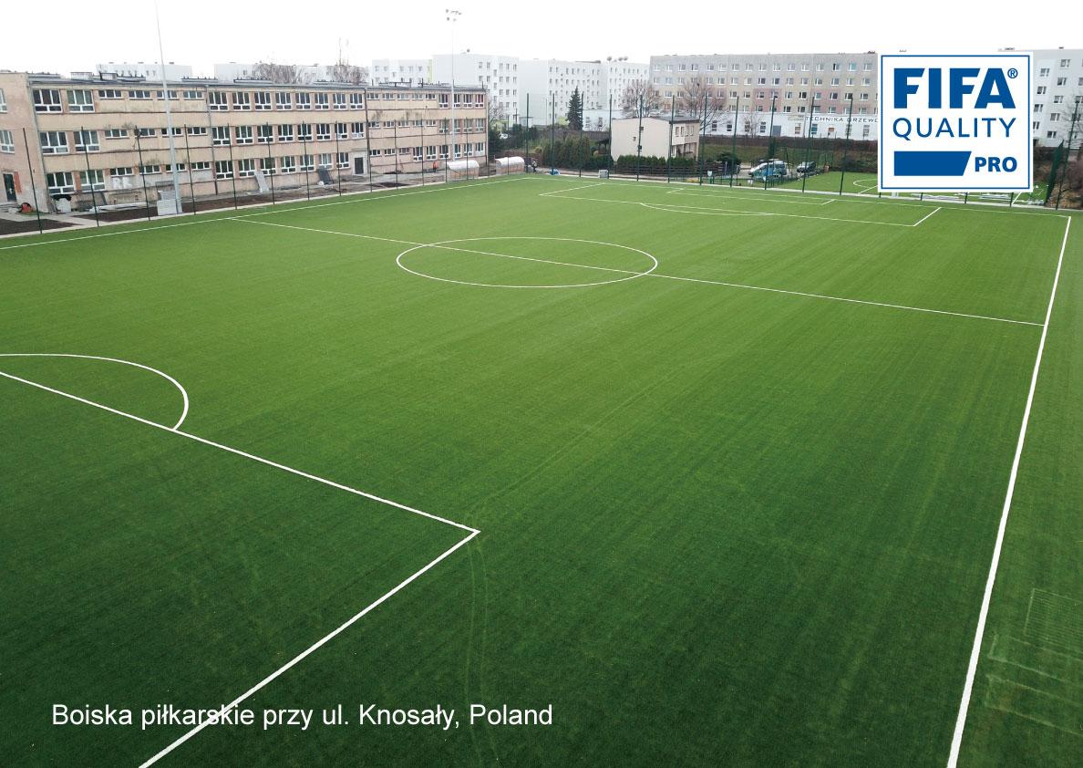 Boiska piłkarskie przy ul. Knosały, Poland
