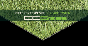 Different types of surface systems-CCGrass