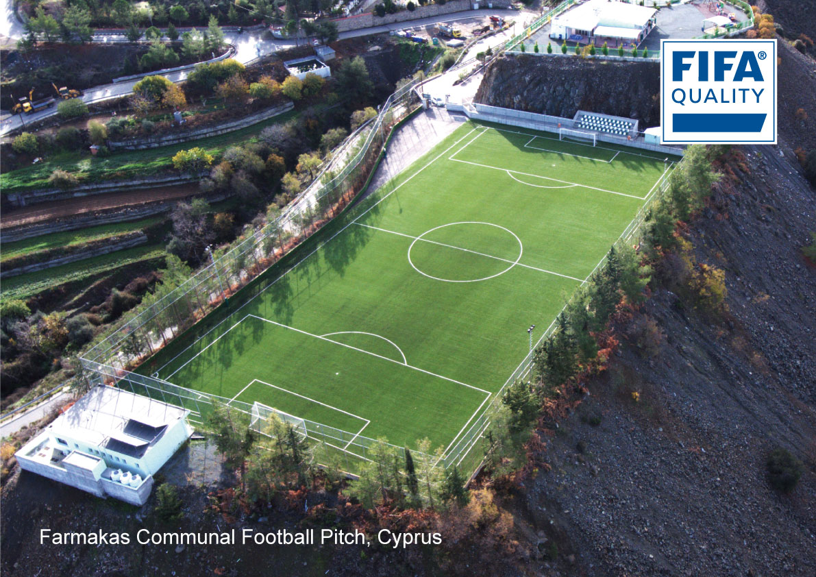 Farmakas Communal Football Pitch, Cyprus