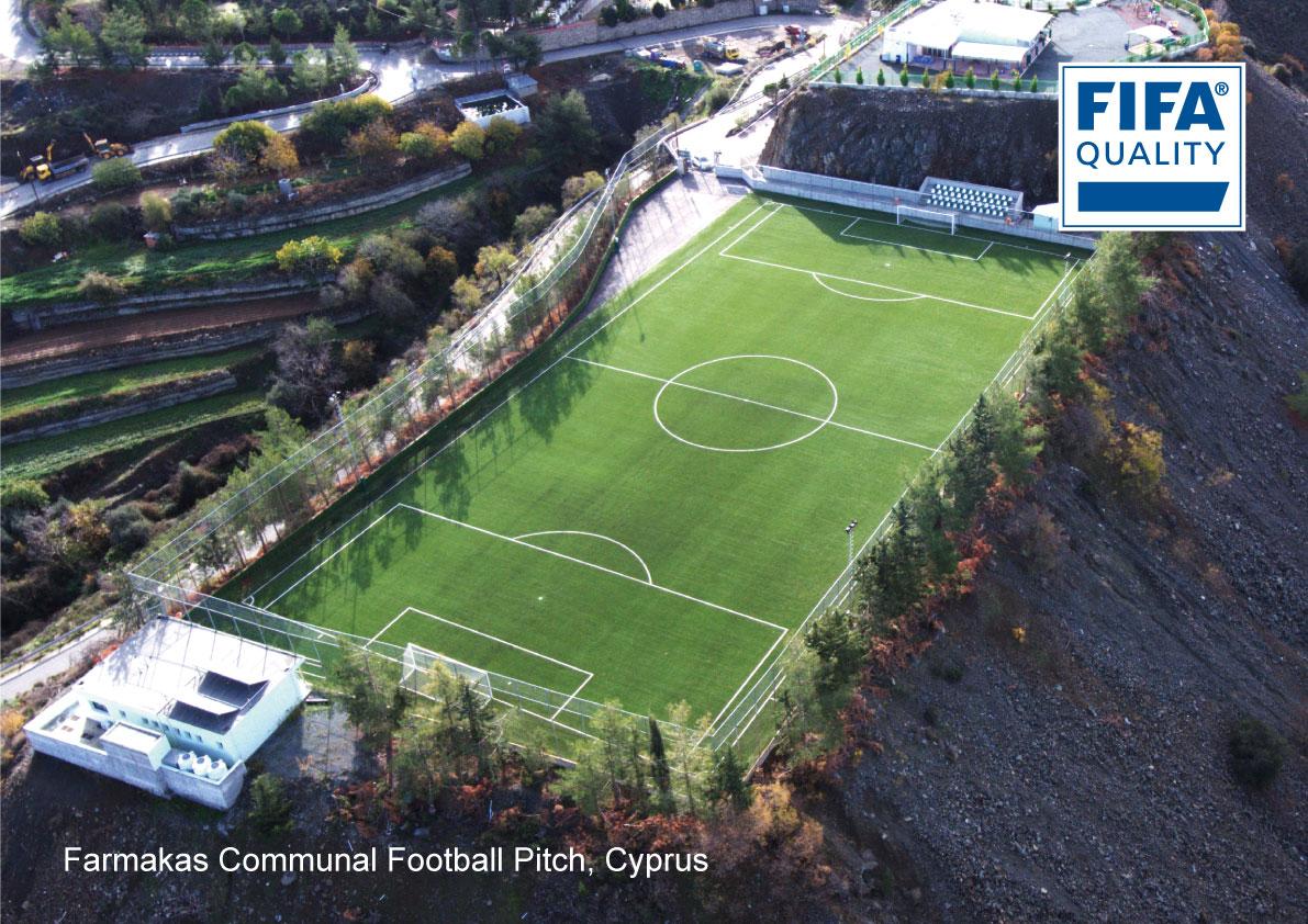 Farmakas Communal Football Pitch, Cyprus