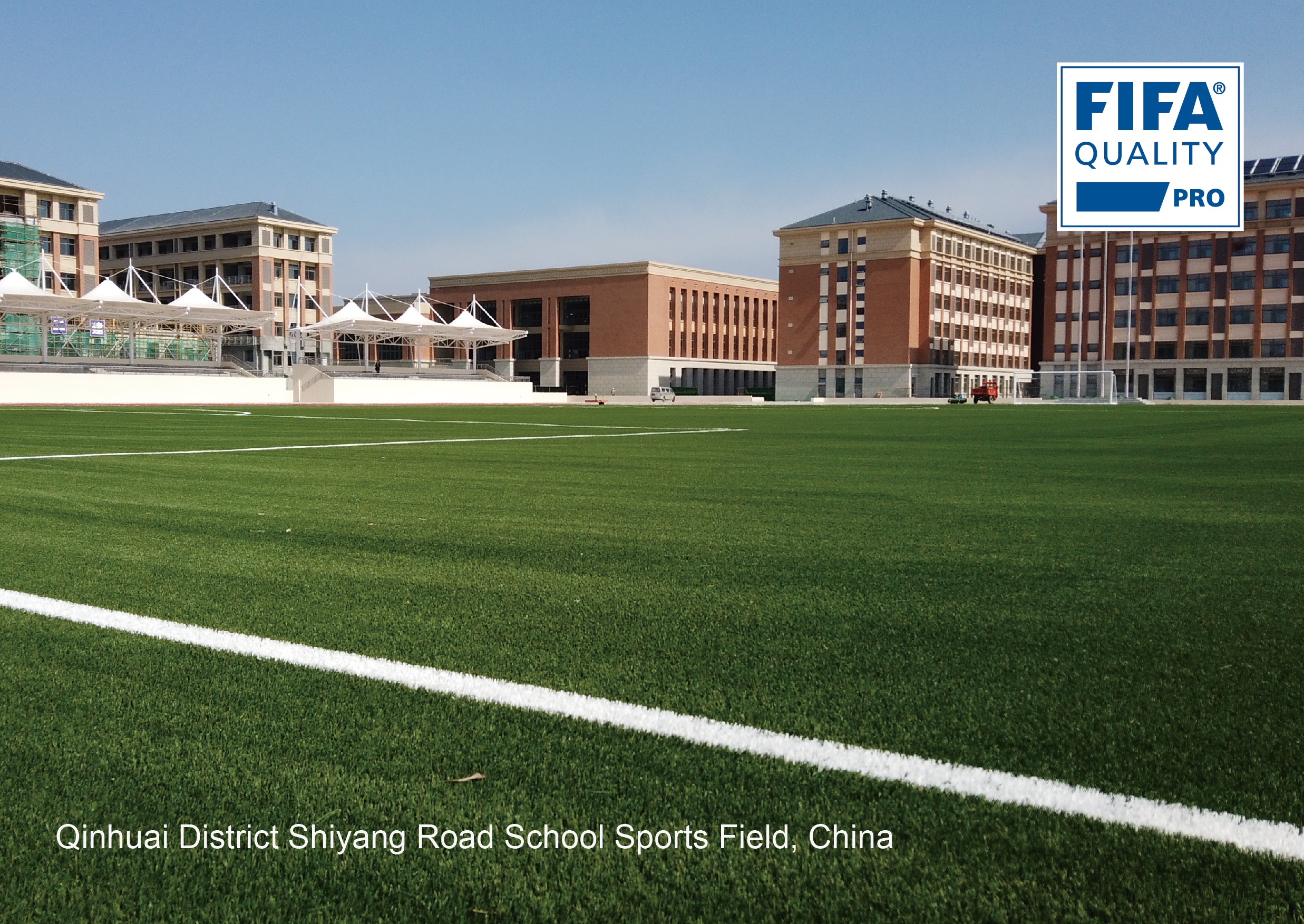 Qinhuai District Shiyang Road School Sports Field, China