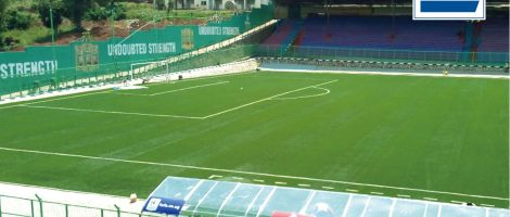 CCGrass successfully updates FIFA Quality pitch for the St. Mary's Stadium in Uganda