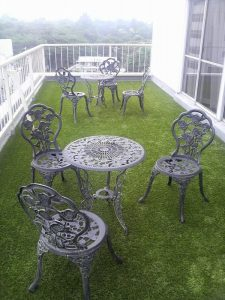 The benefits of installing Artificial grass on balcony