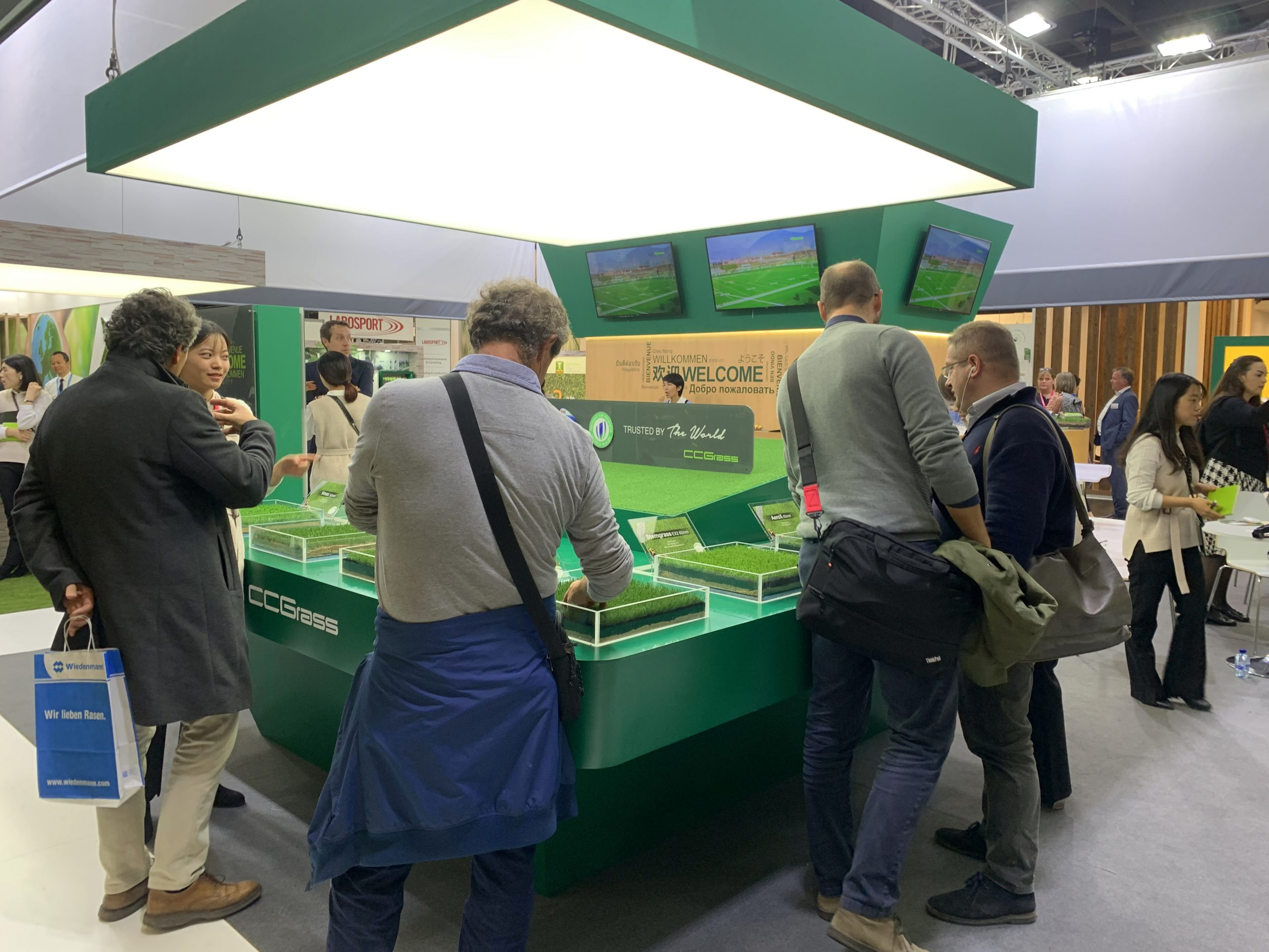 CCGrass at this year's FSB exhibition in Cologne