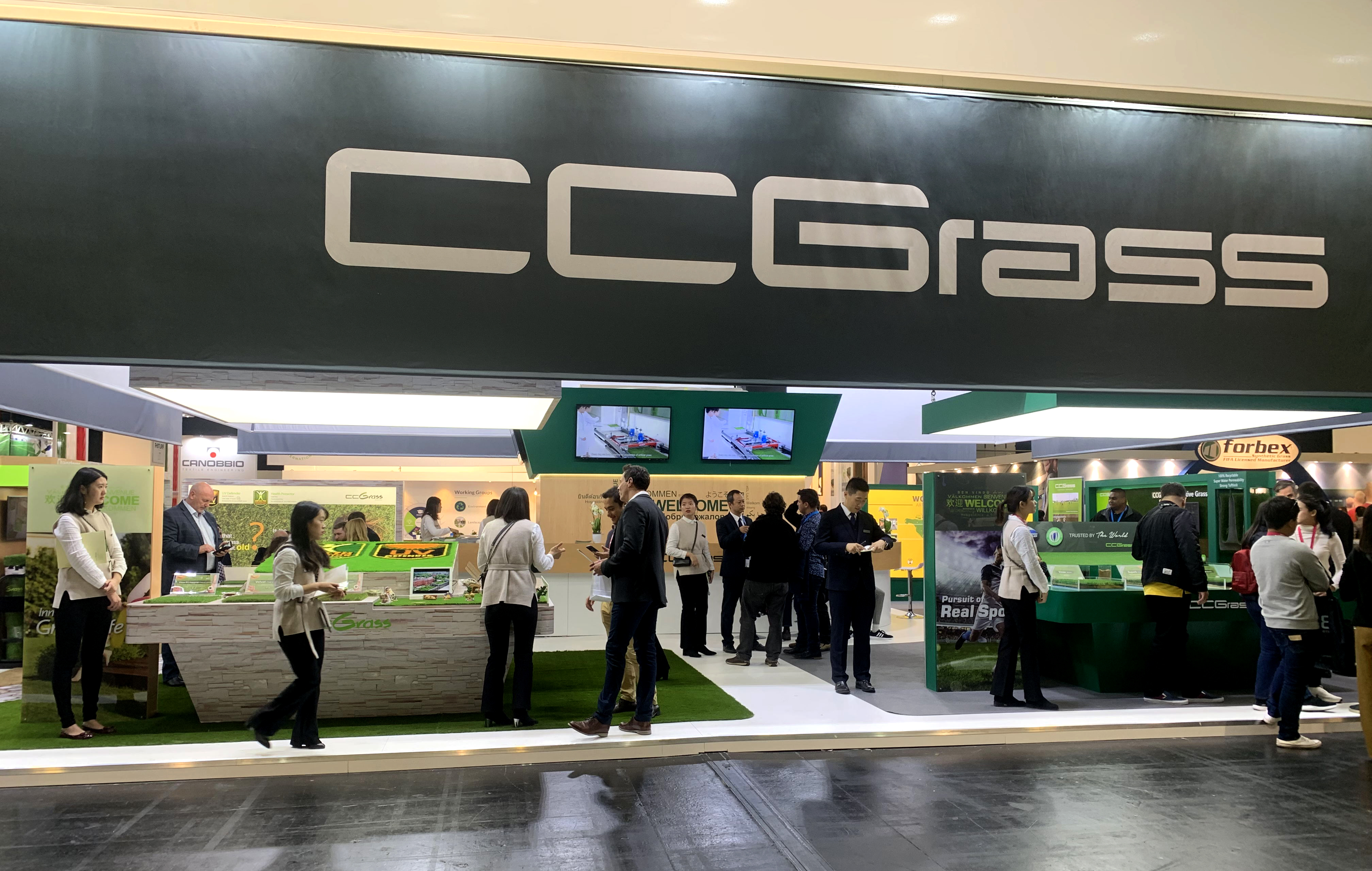 Great success for CCGrass at this year's FSB exhibition in Cologne