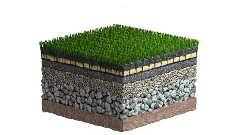 How do turf systems update in different grass surface