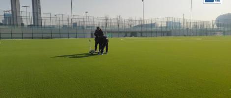 CCGrass supplies for DalianYouthFootballTraining Base in China