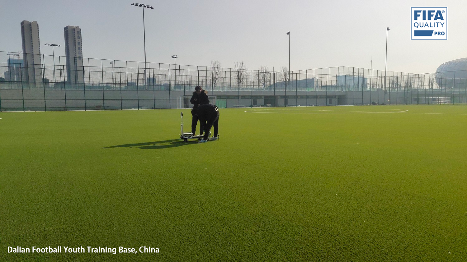 CCGrass supplies pitches for Dalian football youth training base