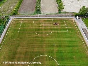 CCGrass artificial grass field in TSV Fortuna in Billigheim, Germany (3)