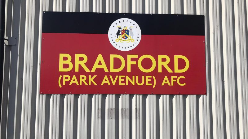 Work has begun at Bradford Park Avenue