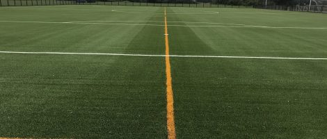 Rossington All Saints Academy pitch ready for play
