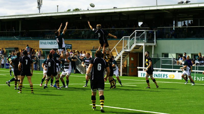 What does a rugby player look for in a pitch?