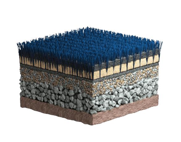 CCGrass, artificial grass system