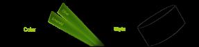 CCGrass, artificial grass fibre color