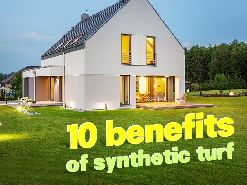 CGrass, 10 benefits of synthetic turf