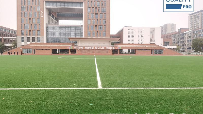 The first FIFA Quality Pro field in Changzhou City, China