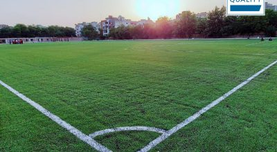 CCGrass completed a FIFA Quality pitch in India
