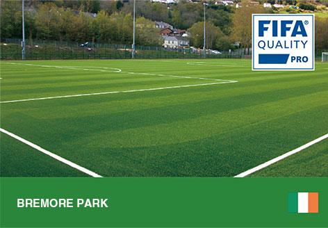 CCGrass, football pitch, Bremore Park, Ireland