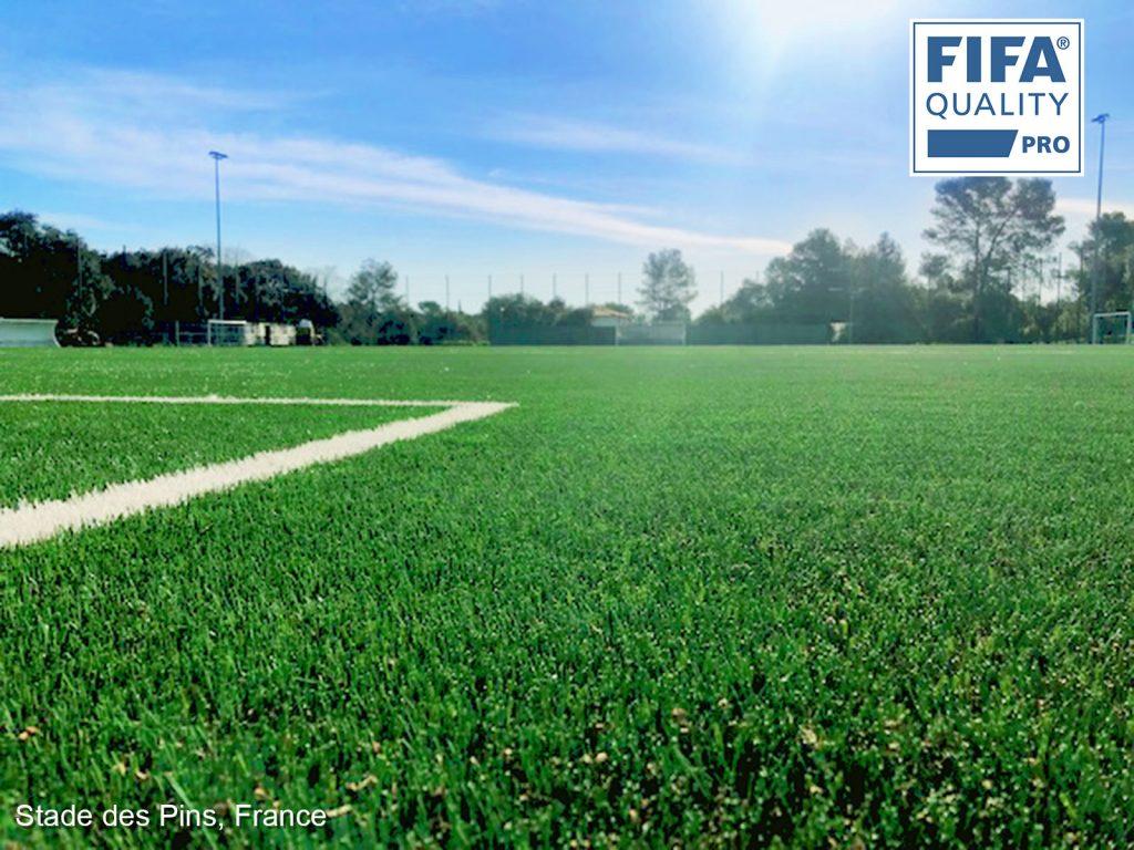 CCGrass, football field, France, FIFA Quality Pro field