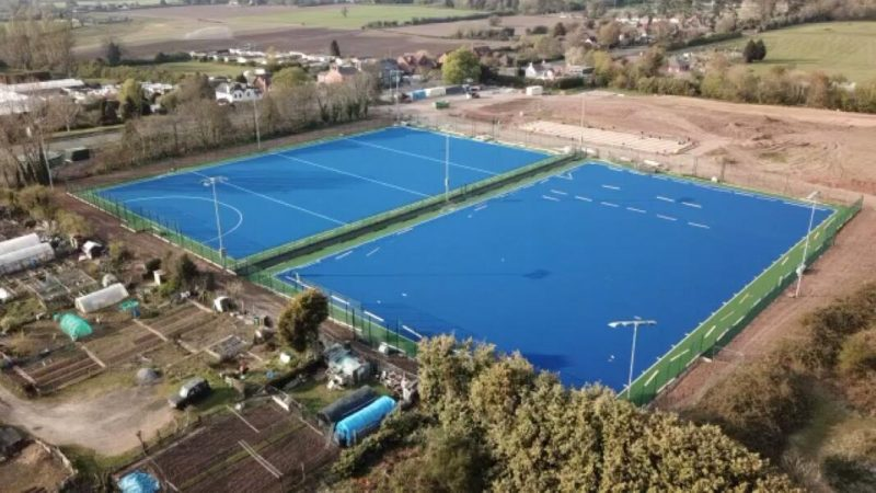 Worcester Hockey Club Double Pitch Finished!